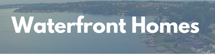 Waterfront and lakefront homes for sale in Snohomish and King County by waterfront real estate experts, Persinger Group