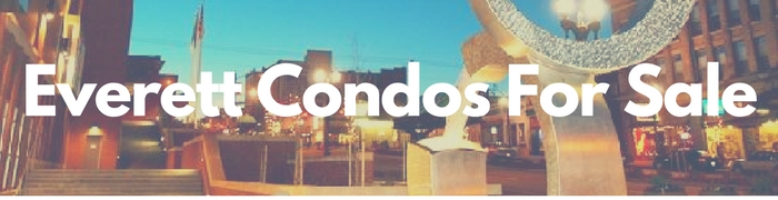 Everett WA condos and townhomes for sale.