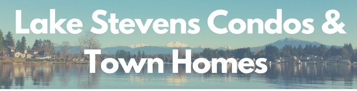 Lake Stevens WA condos and townhomes for sale sale.