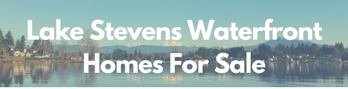 Lake Stevens waterfront homes for sale, Lake Stevens real estate search by PersingerGroup.com