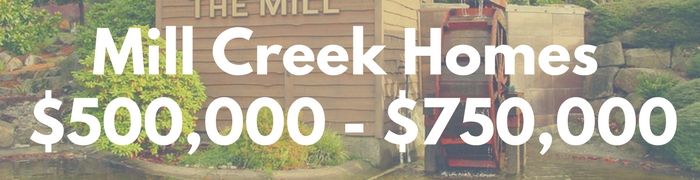 Mill Creek WA Homes for sale $500,000 - $750,000. Search PersingerGroup.com to find Mill Creek WA Real Estate.