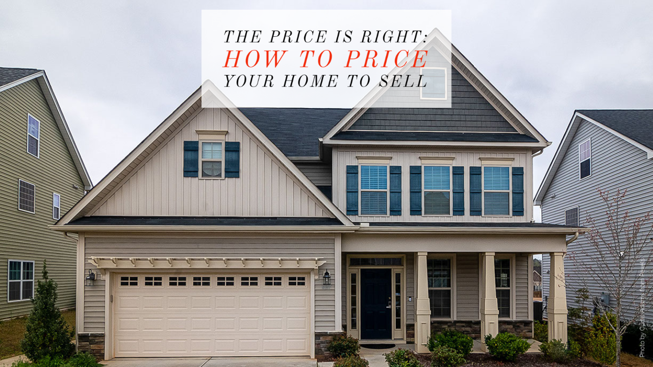 finding the right listing price for home