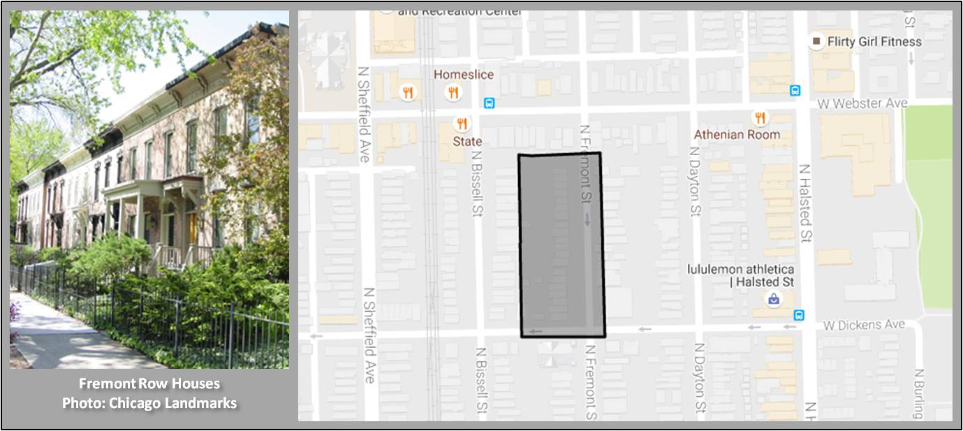 Fremont Row House Landmark District Homes For Sale