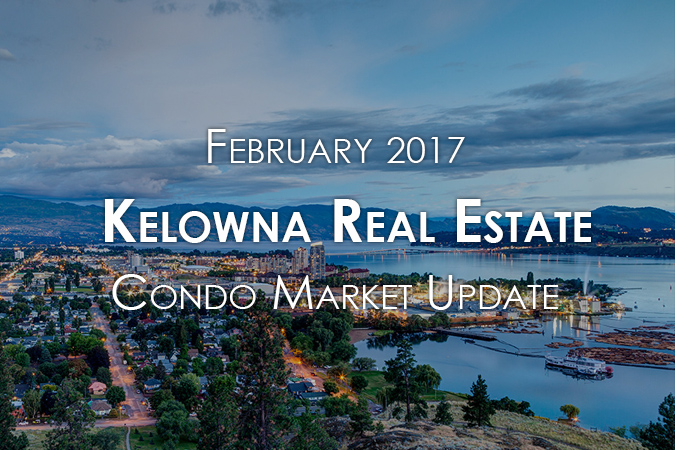 Kelowna condos real estate - sellers market