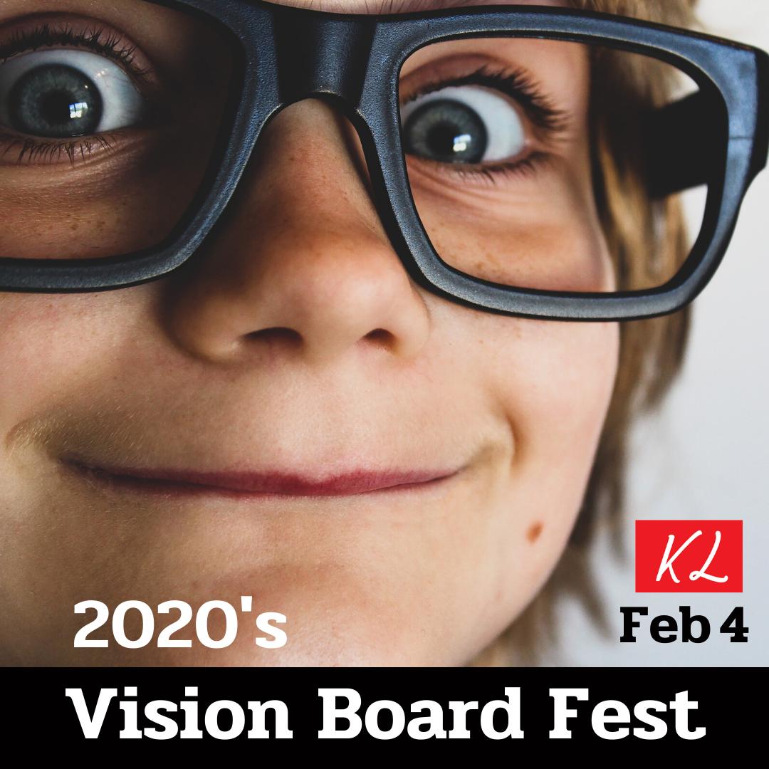 Vision board event San Jose February 2020