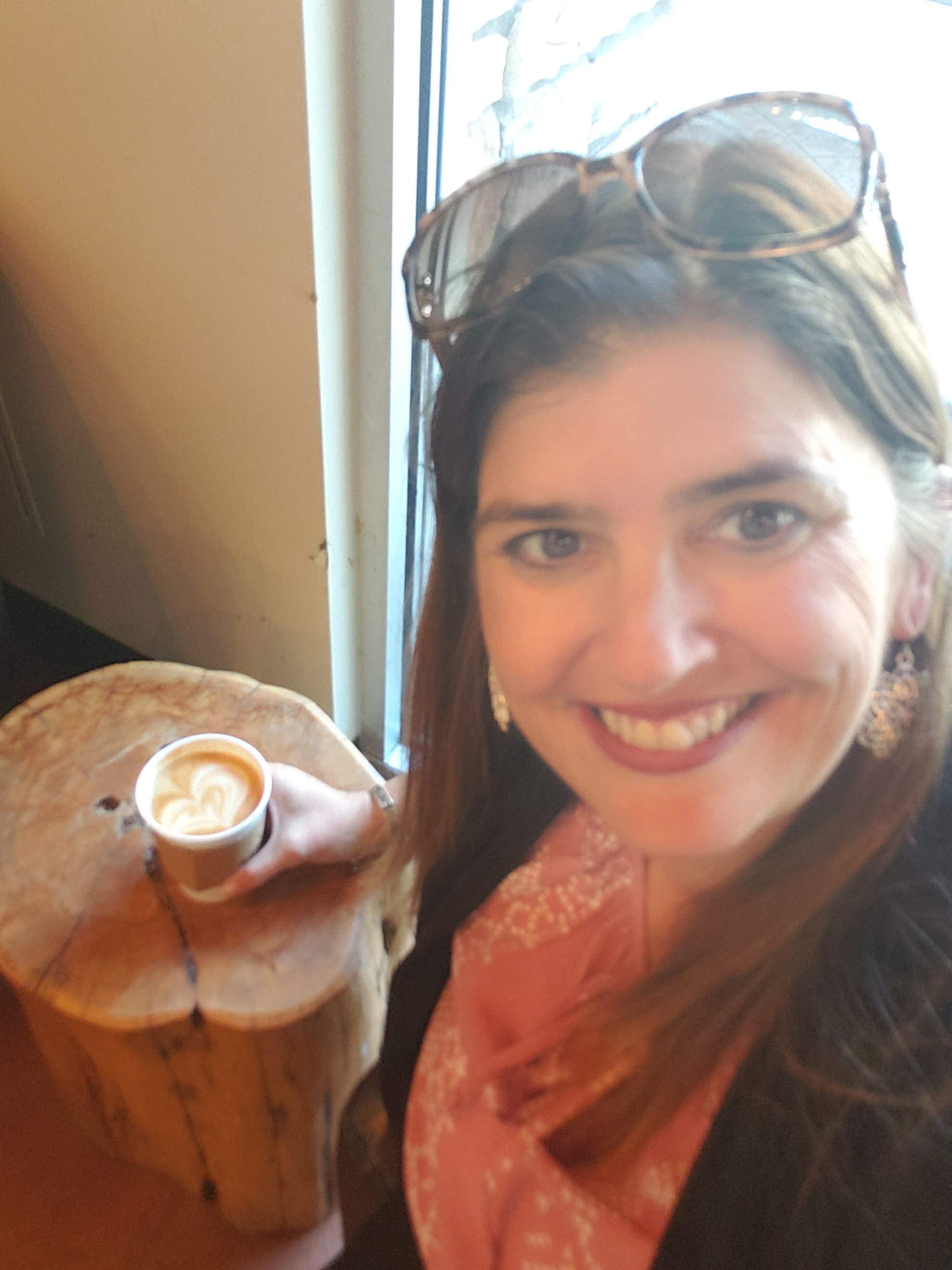 Realtor Kelsey Lane at Barefoot Coffee Campbell, CA