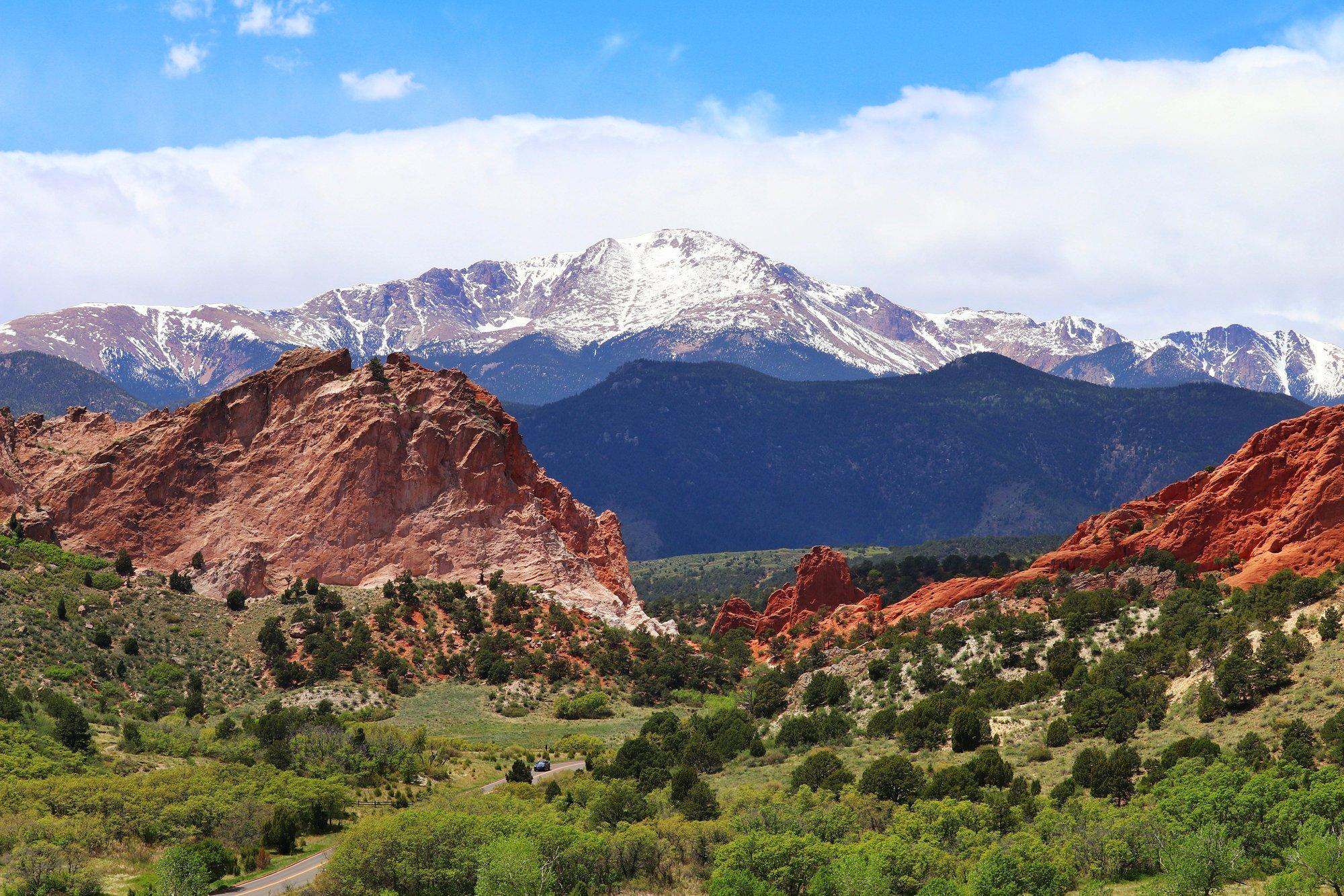 Colorado Springs Views of Pike's Peak