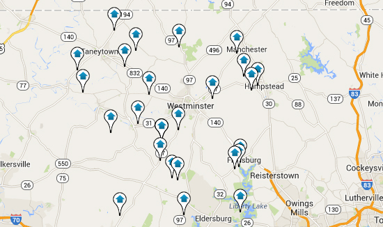 Carroll County Home Search