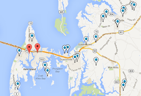 Eastern Shore Of Maryland Home Search