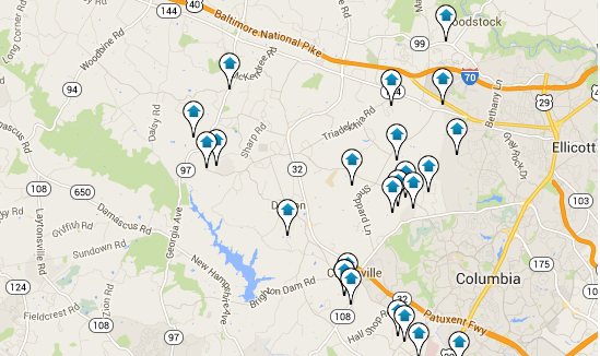 Howard County Home Search