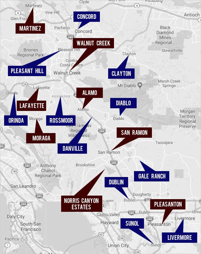 Explore East Bay Real Estate