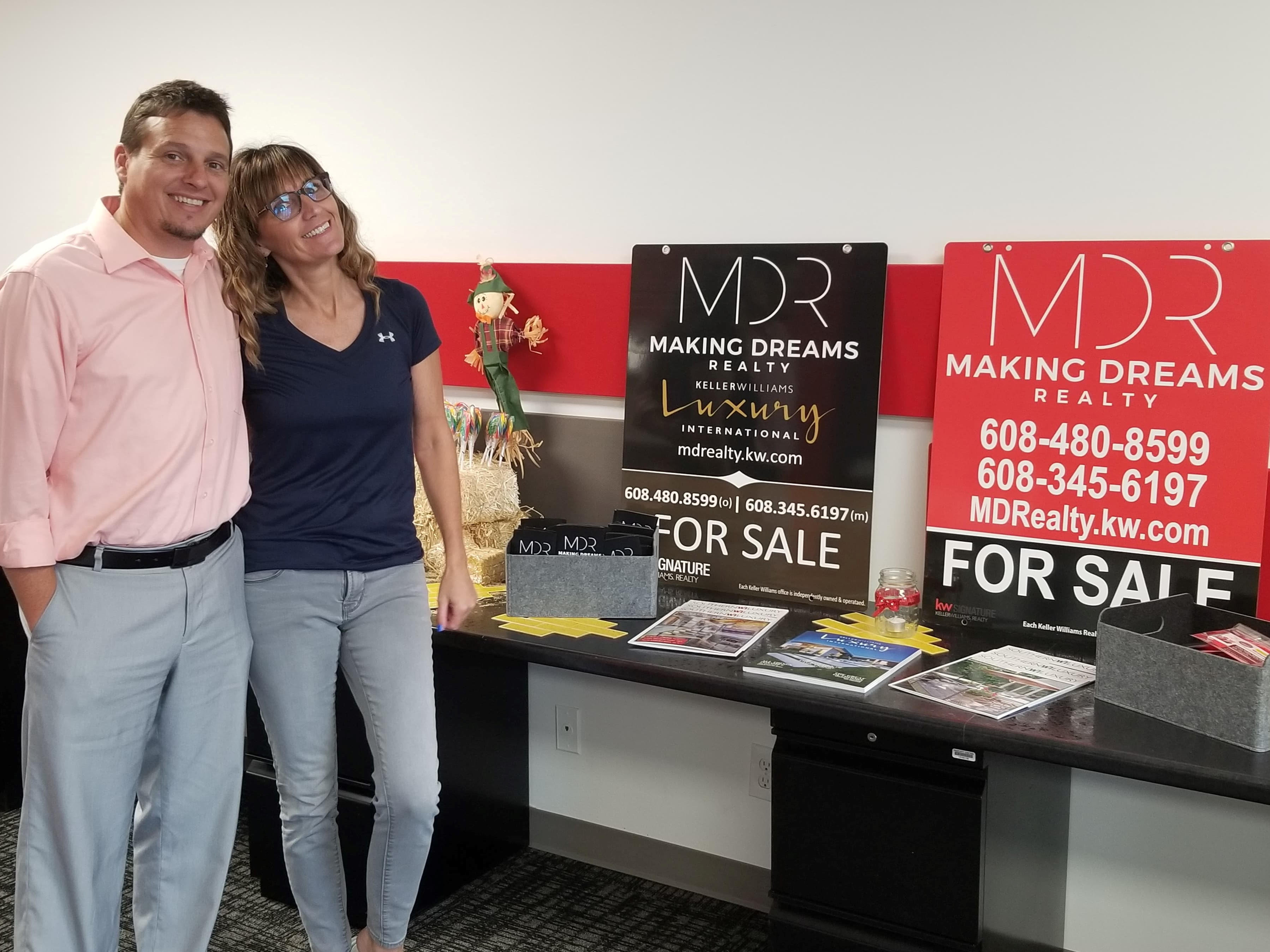Kevin and Renee Clark, Owners MAKING DREAMS Realty