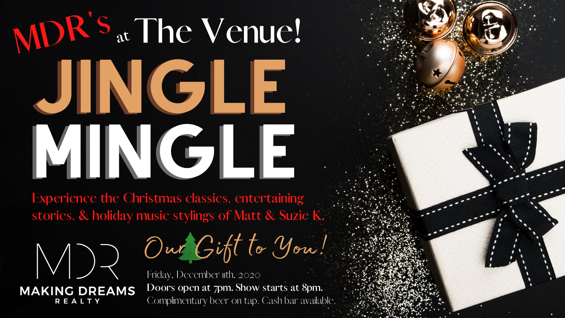 MAKING DREAMS Realty Holiday Event 2020: Jingle Mingle