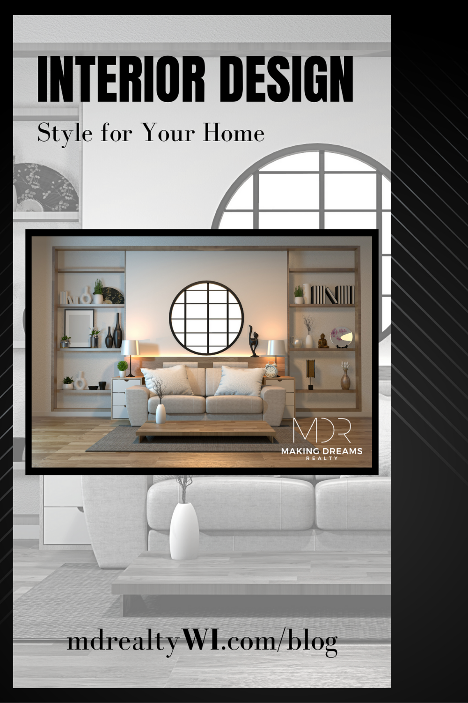 Interior design styles, blog by MDR