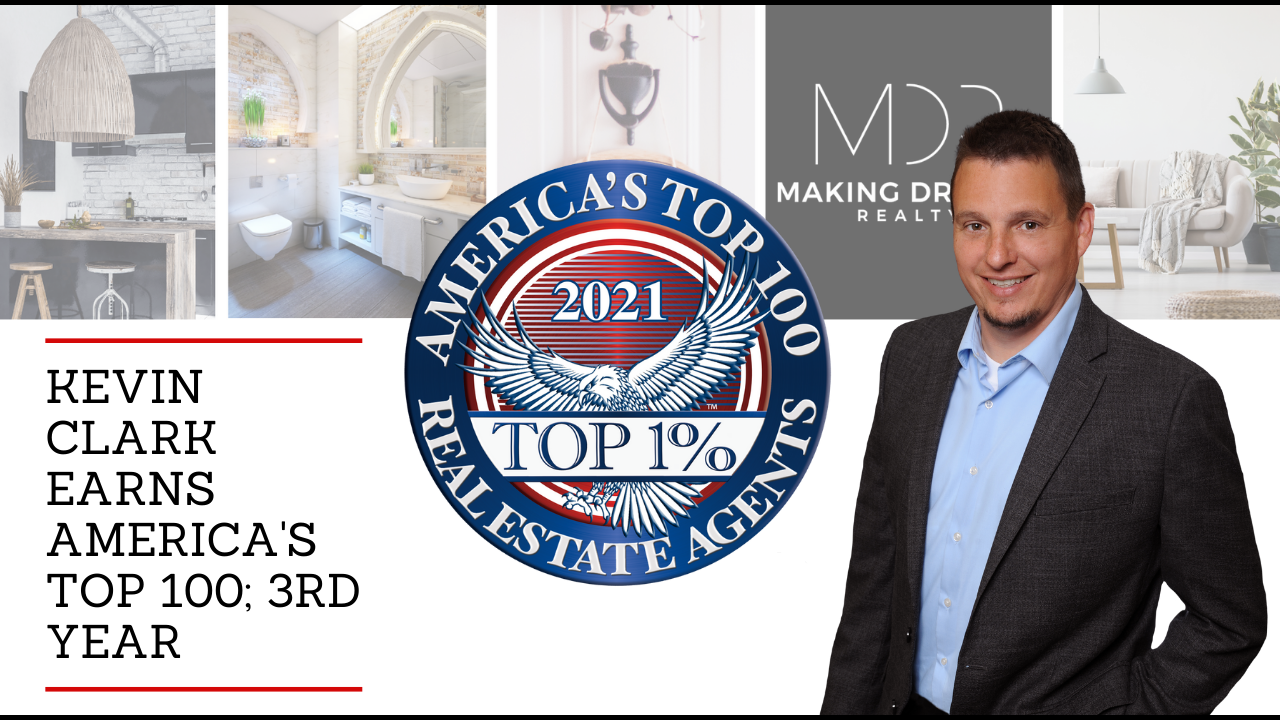 Kevin Clark, Top 100 Real Estate Agents