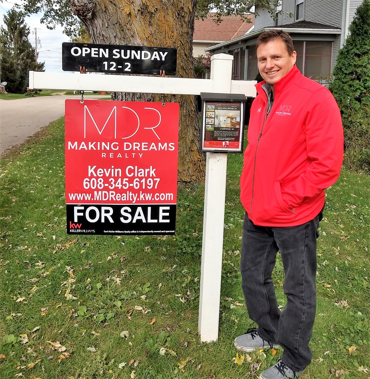Kevin Clark, Owner of MAKING DREAMS Realty