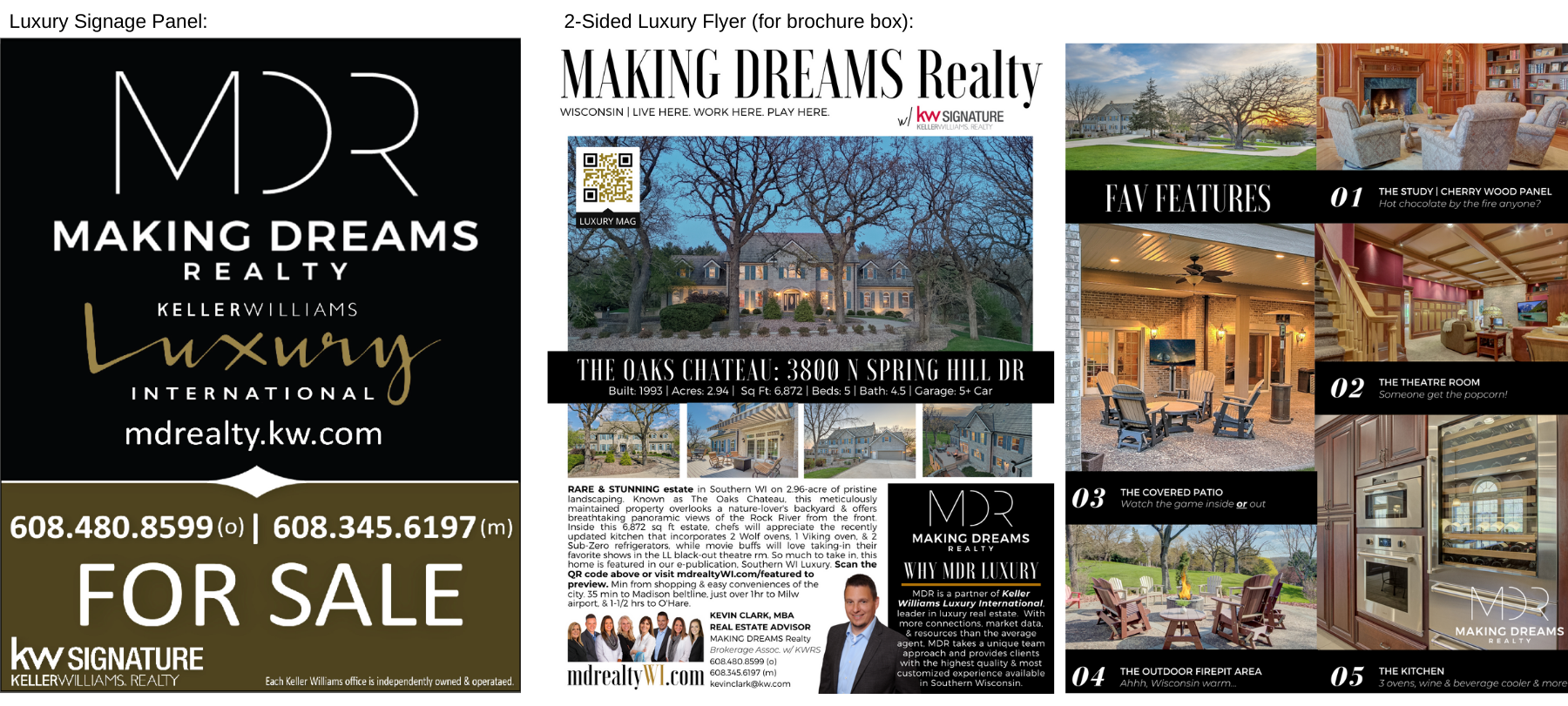 MAKING DREAMS Realty luxury division