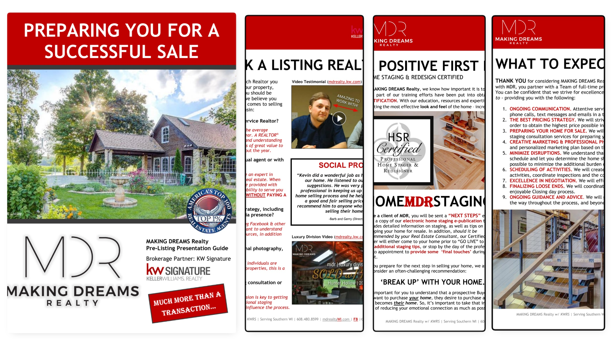 Ultimate guide to preparing your home for a successful sale. Presented by MAKING DREAMS Realty