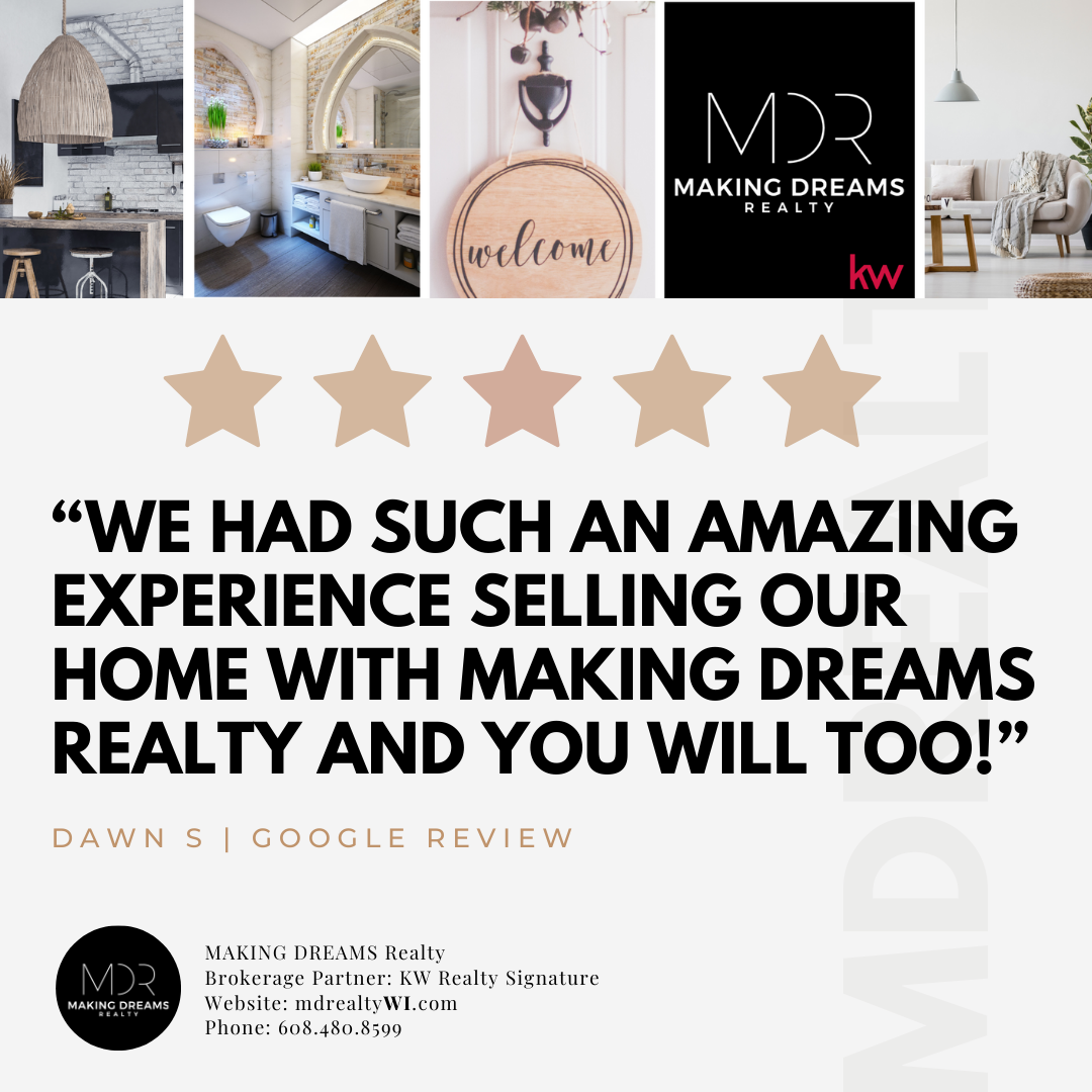 5-star review | Sell your home with MAKING DREAMS Realty