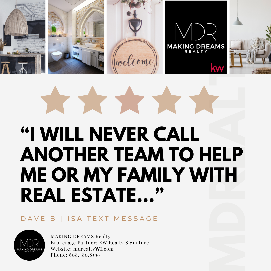 Testimonial for MAKING DREAMS Realty