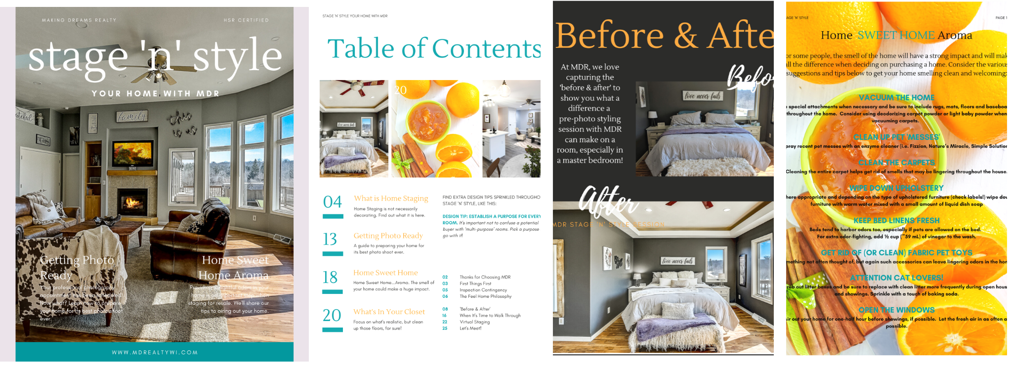 Ultimate guide to staging your home. Presented by MAKING DREAMS Realty
