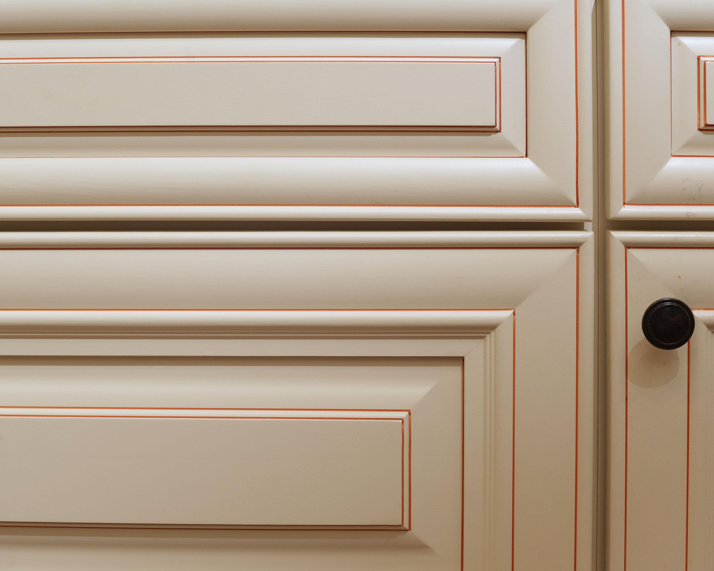 cabinet finish in Haverhill MA Condo