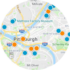 Shadyside Real Estate Map Search