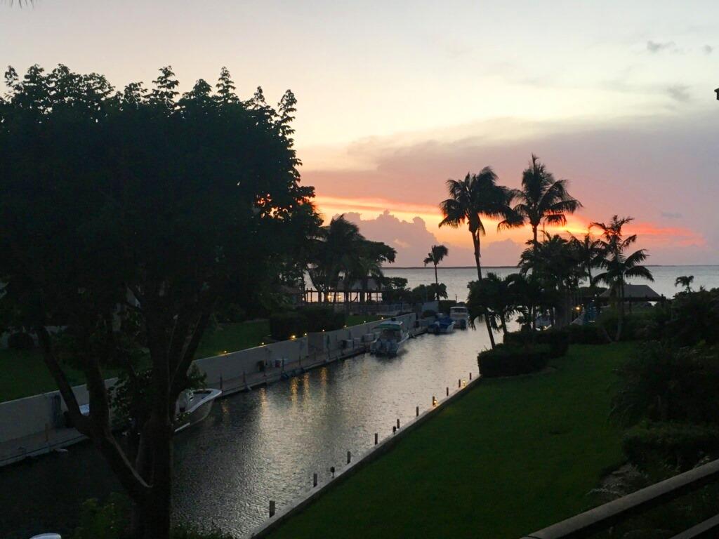 key largo sunset at tamarind bay condominium