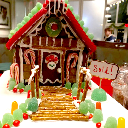 Gingerbread house sold!