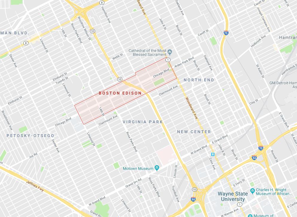 boston edison real estate