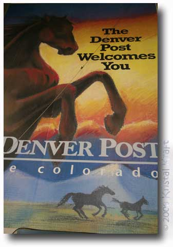Denver Post Newspaper Welcome