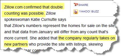 Zillow the Bloated Real Estate Source