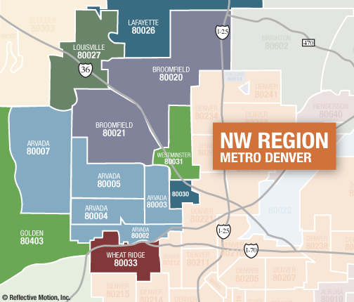 Real Estate Market Report for NW Denver Metro - December 2011