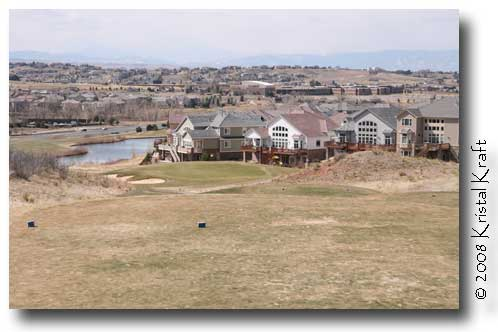 Golf course homes at Saddle Rock