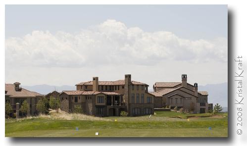 Luxury homes on the Buffalo Run Golf Course