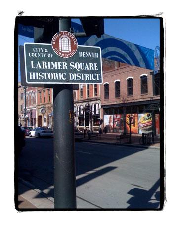 Larimer Square in Denver's Lodo