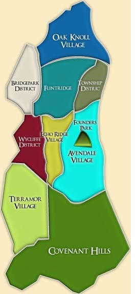 Ladera Ranch Neighborhood Map