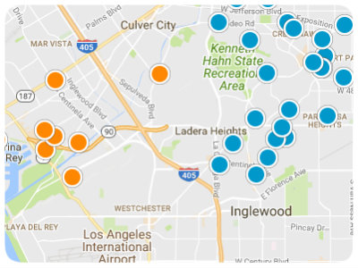 Los Angeles Real Estate Map Search