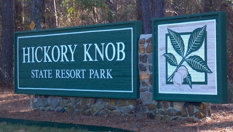 Hickory Know State Park Sign