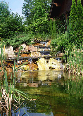 Pond at the Retreat in Grand Harbor