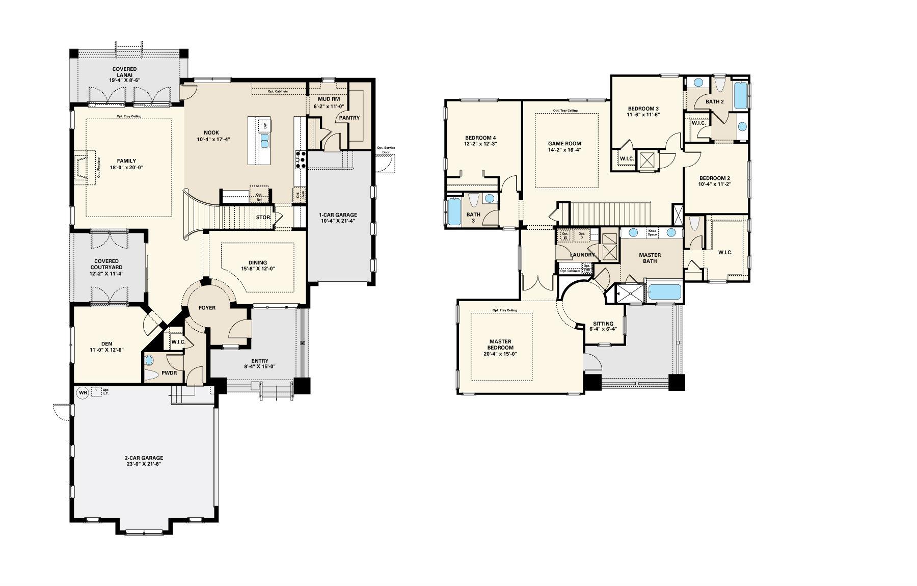 Taylor Morrison Homes Laureate Park Lake Nona – Morrison Homes Floor Plans