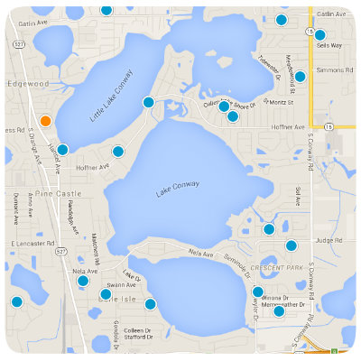 Belle Isle Interactive Real Estate Map Search