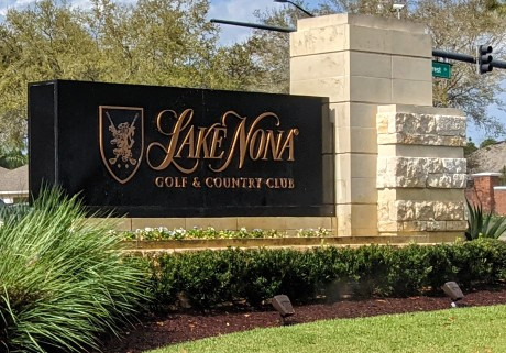 Lake Nona Golf & Country Club Entrance