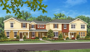 Nona Terrace townhomes