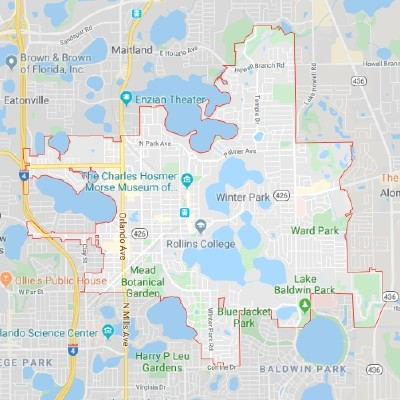 Winter Park Interactive Real Estate Map Search