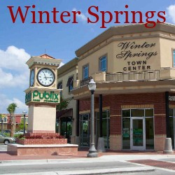 Winter Springs Florida Homes for Sale