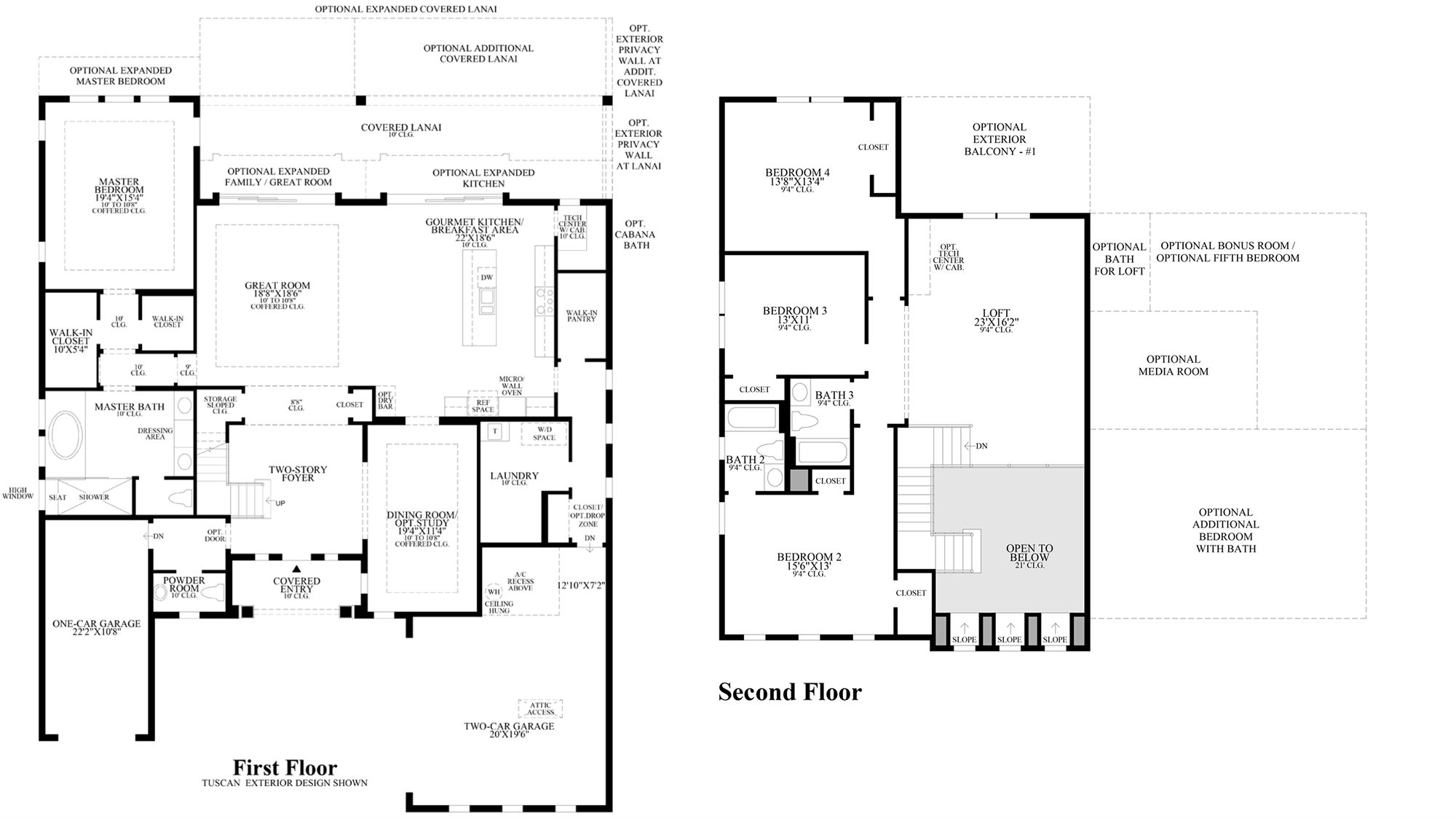 Awesome Toll Brothers Floor Plans Graphics Home