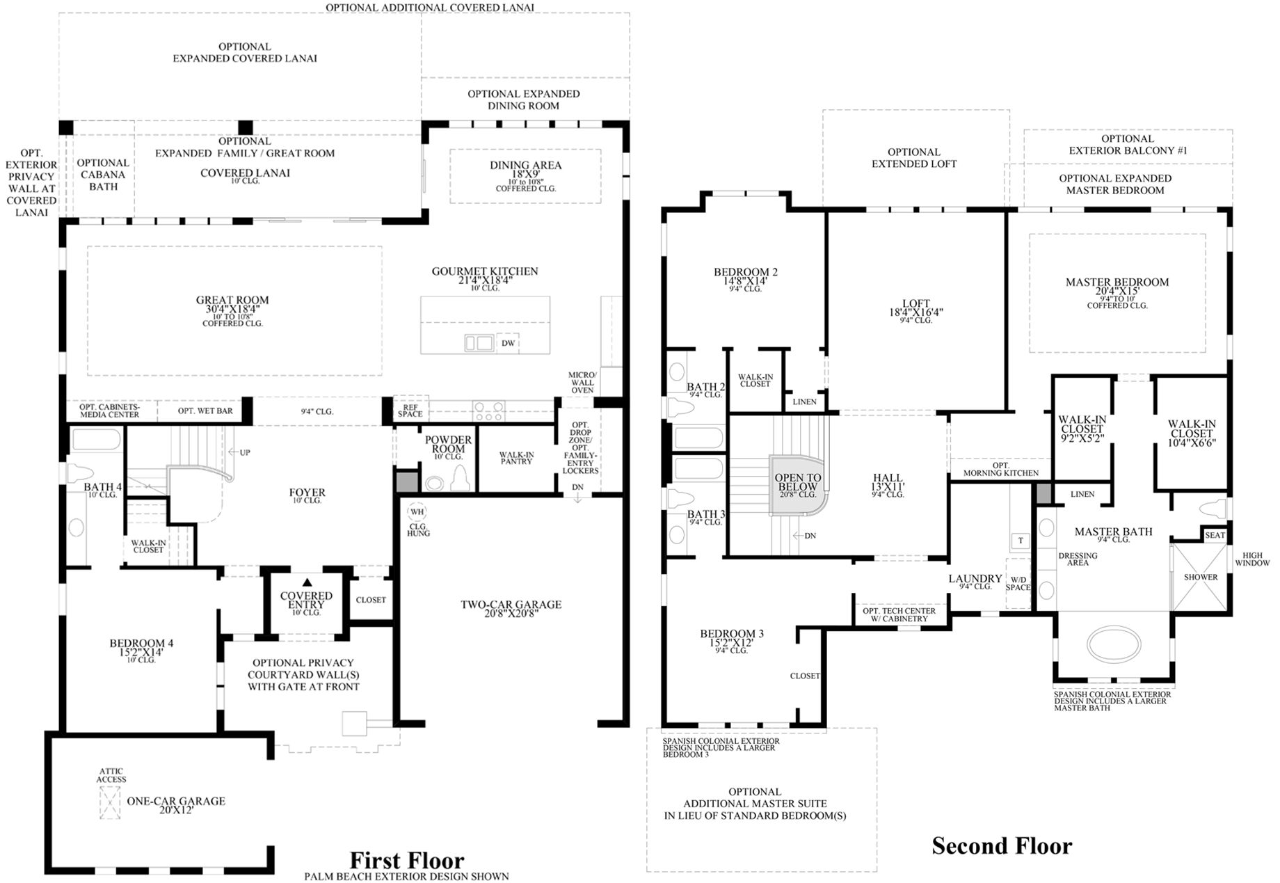 Pretty toll brothers floor plans pictures floorplan for mirador at windgate ranch scottsdale - Dream home floor plan model ...