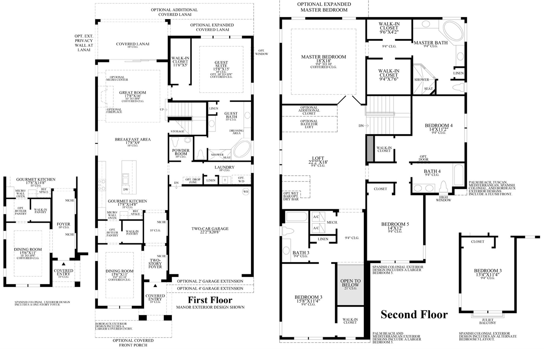 Toll Brothers Carlsbad Floor Plan: Toll Brothers Eagle Creek Model Homes