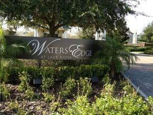Water's Edge in Lake Nona Florida